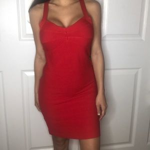 Hot Miami Styles Dresses - BRAND NEW! Red Holiday Dress